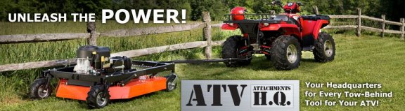 ATV tow behind